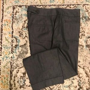 Ann Taylor Loft women's Julie trouser, sz 4